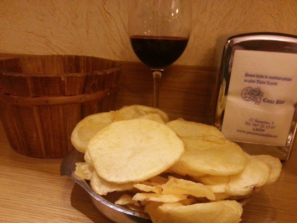 Casa Blas, las patatas fritas de León, desde hace 50 años