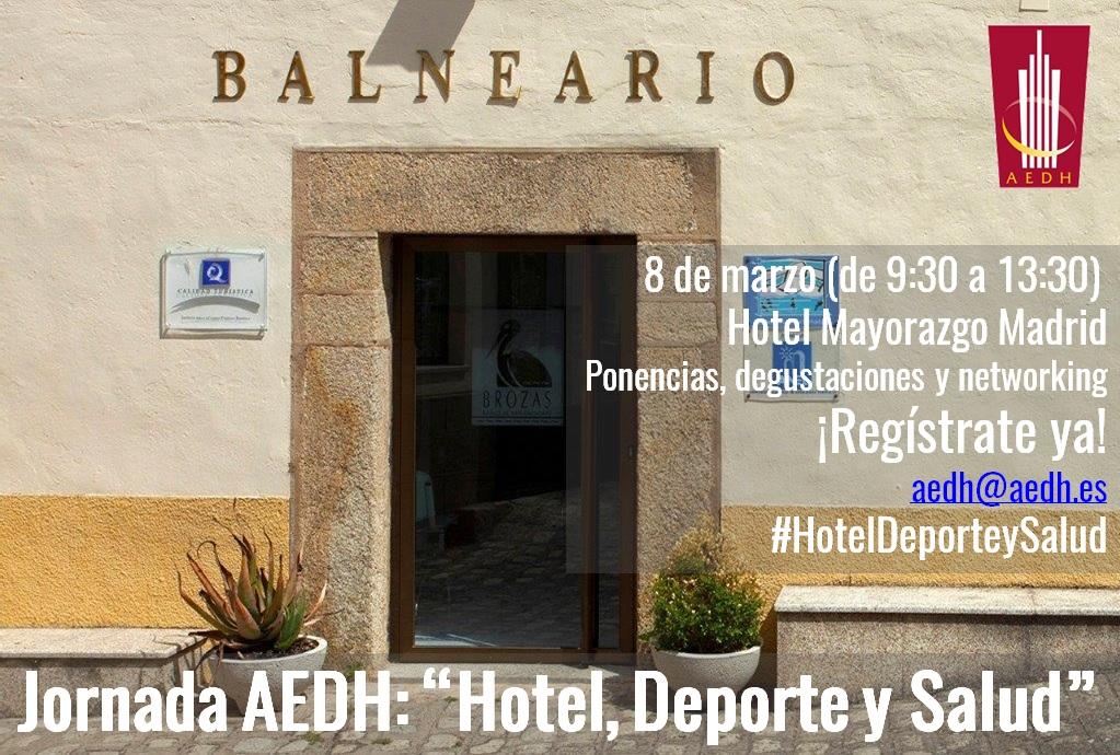 Jornada «Hotel, deporte y salud» para directivos hoteleros